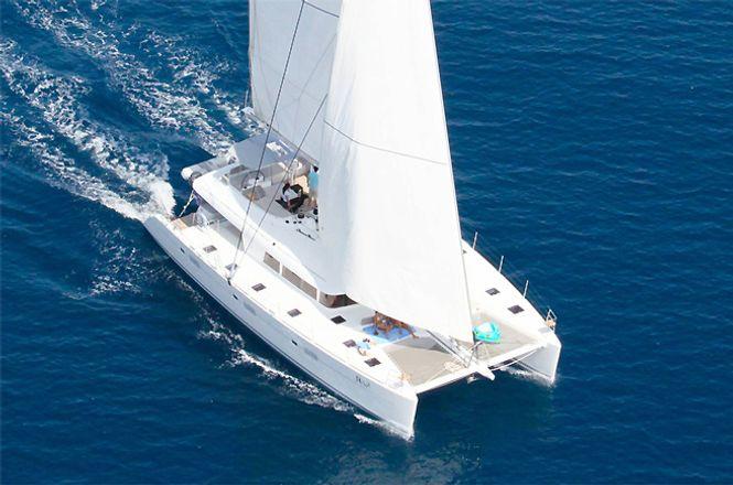 Luxury Catamaran Greece
