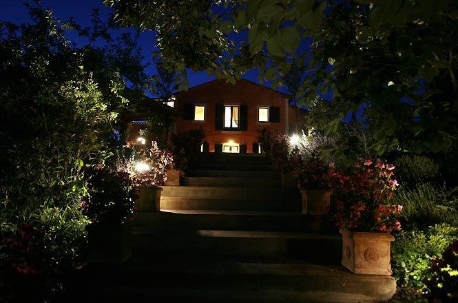 Elegant Hillside House