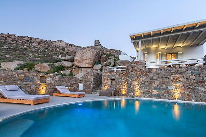 Psarou Sea View Villa