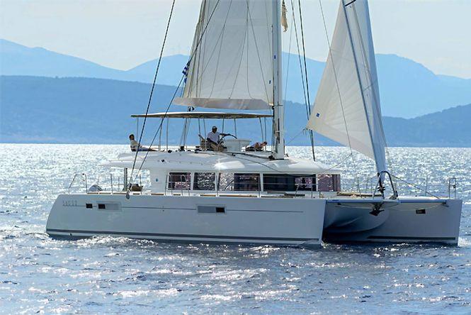 Catamaran Greece Lagoon