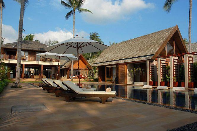 Beachfront Asian Villa