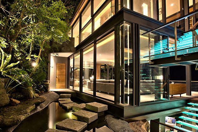 Luxury Hillside Asian Villa