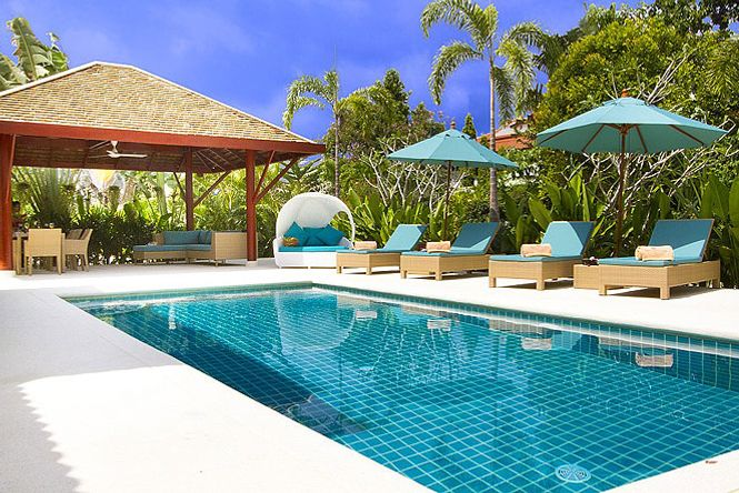 Exclusive Beach Resort Villa