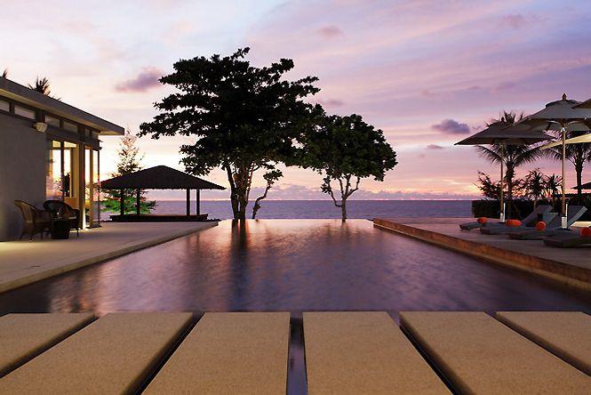 Seafront Contemporary Villa
