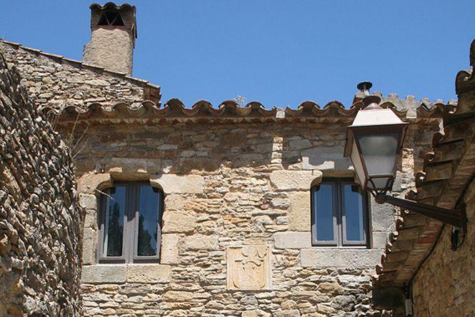 Medieval Peratallada Castle