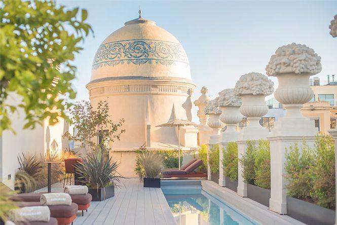 Barcelona Pool Penthouse